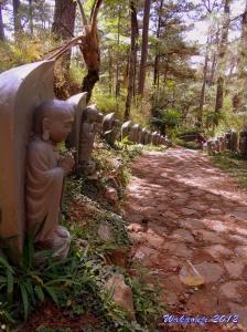 budha japanese garden