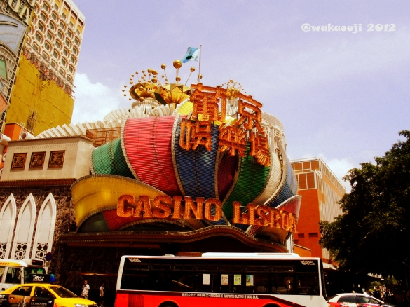 One of the Many Macau Casinos