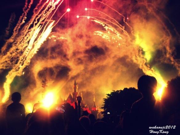 Hongkong Disneyland Fireworks